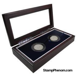 Guardhouse Glass-top Wood Display Box -GH-W1800: (2XL)-Challenge Coin Boxes and Displays-Guardhouse-StampPhenom
