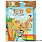 Design Your Own Cent Folder: My Cent Collection-Coin Collecting For Kids-Whitman-StampPhenom