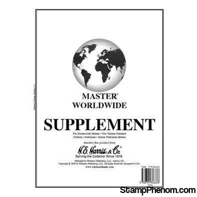 2017 Master Worldwide Supplement-Album Supplements-HE Harris & Co-StampPhenom