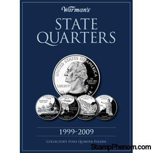 State Quarters 1999-2009-Coin Albums & Folders-Warmans-StampPhenom