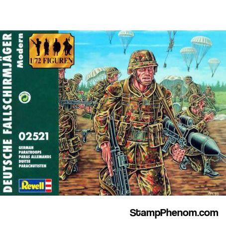 Revell Germany - German Paratroopers 1:72-Model Kits-Revell Germany-StampPhenom