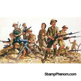 Revell Germany - British 8th Army WWII 1:76-Model Kits-Revell Germany-StampPhenom