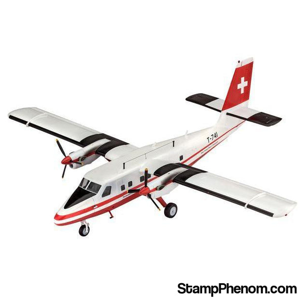 Revell Germany - Dhc-6 Twin Otter Swisstopo 1:72-Model Kits-Revell Germany-StampPhenom