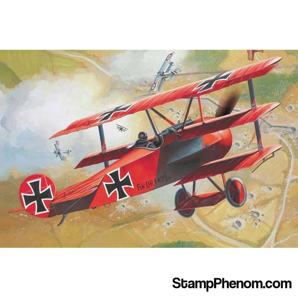 Revell Germany - Fokker Dr.1 Triplane 1:72-Model Kits-Revell Germany-StampPhenom