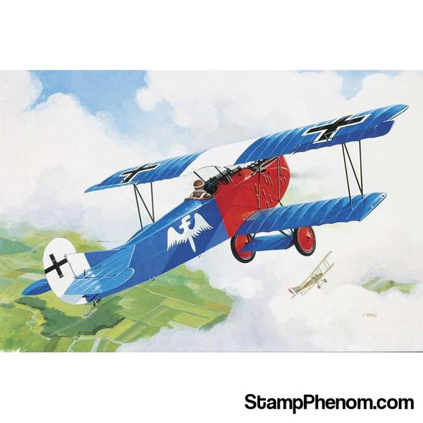 Revell Germany - Fokker D-VII 1:72-Model Kits-Revell Germany-StampPhenom