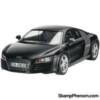 Revell Germany - Audi R8 Black 1:24-Model Kits-Revell Germany-StampPhenom