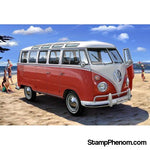 Revell Germany - VW 1962 T1 SAMBA BUS 1:24-Model Kits-Revell Germany-StampPhenom