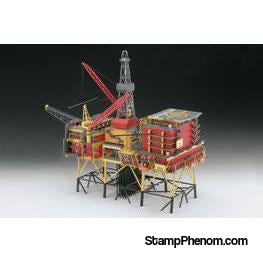 Revell Germany - Oil Rig North Cormorant 1:200-Model Kits-Revell Germany-StampPhenom
