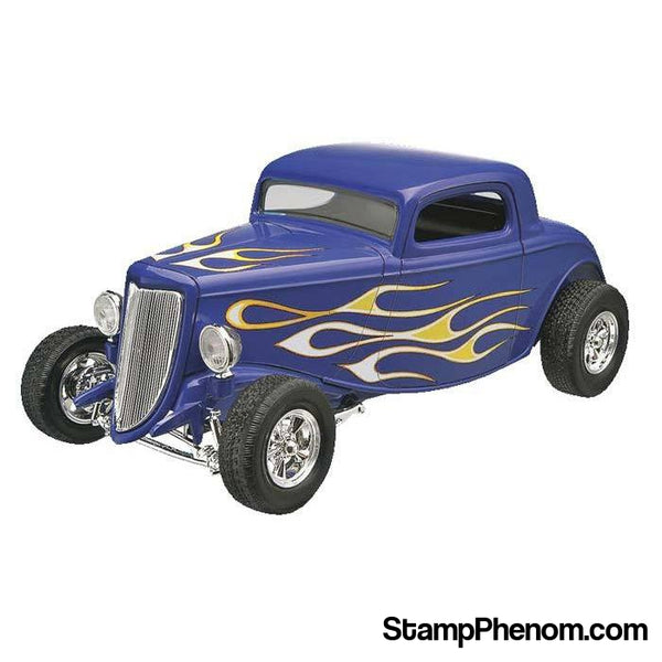Revell Monogram - '34 Ford Street Rod 1:25 SN-Model Kits-Revell Monogram-StampPhenom
