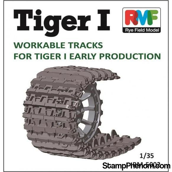 Ryefield - Tiger I Initial/Early Production Workable Track Set 1:35-Model Kits-Ryefield-StampPhenom