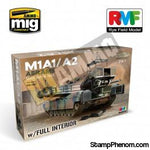Ryefield - M1A1 M1A2 Abrams with Full Interior (2 in 1) 1:35-Model Kits-Ryefield-StampPhenom