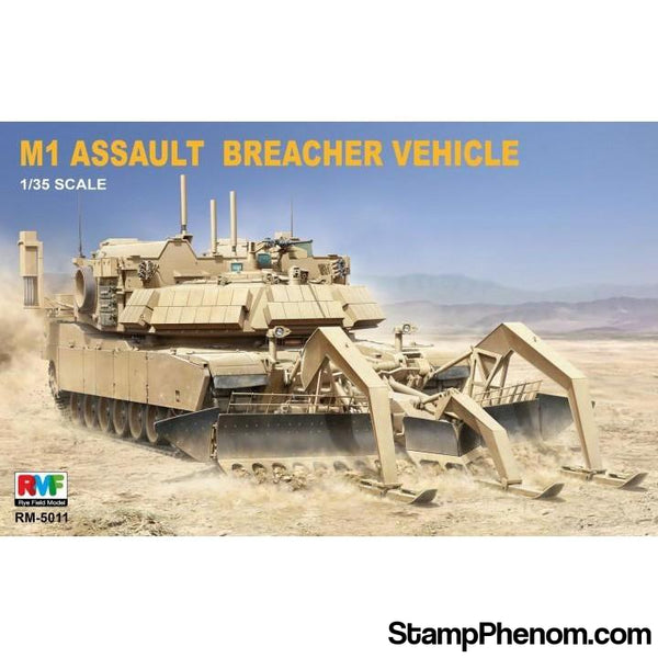 Ryefield - M1 Abrams Assault Breacher Vehicle 1:35-Model Kits-Ryefield-StampPhenom
