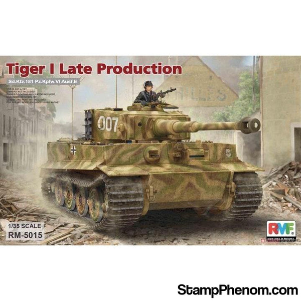 Ryefield - Tiger I Late Production Sd.Kfz.181 1:35-Model Kits-Ryefield-StampPhenom