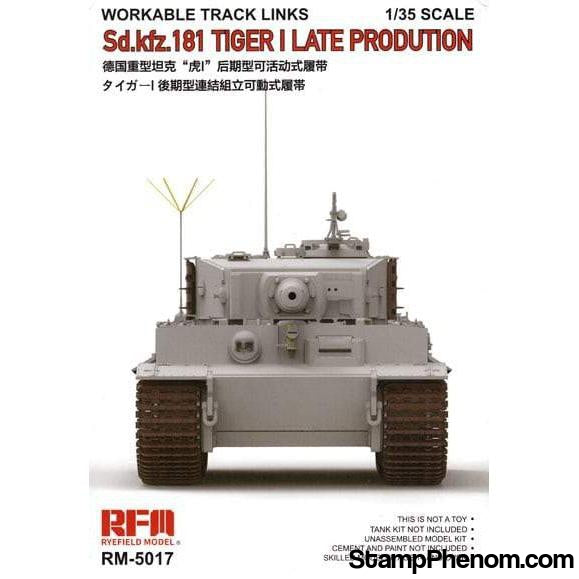 Ryefield - Tiger I Late Track Links Workable 1:35-Model Kits-Ryefield-StampPhenom