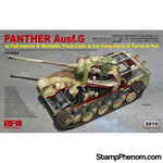Ryefield - Panther Ausf.G Sd.Kfz.171 with Full Interior / Workable Track Links / Cut Away Parts of Turret & Hull 1:35-Model Kits-Ryefield-StampPhenom