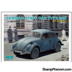 Ryefield - Rye Field Model German Staff Car Type 82E with Full Interior 1:35-Model Kits-Ryefield-StampPhenom