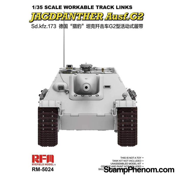 Ryefield - Sd.Kfz.173 Jagdpanther Workable Track Links Set 1:35-Model Kits-Ryefield-StampPhenom