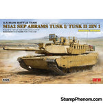 Ryefield - M1A2 SEP Abrams Tusk 1/TUSK 2 (2in1) with Full Interior 1:35-Model Kits-Ryefield-StampPhenom