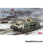 Ryefield - Panzer Pz.Kpfw.IV Ausf.J Late Production (2in1) 1:35-Model Kits-Ryefield-StampPhenom