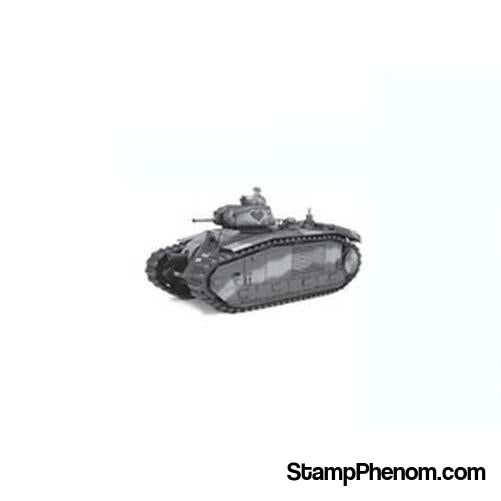 Tamiya - French Battle Tank B1 BIS With Single Motor 1:35-Model Kits-Tamiya-StampPhenom
