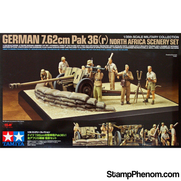 Tamiya - German 7.62cm Pack 36 1:35-Model Kits-Tamiya-StampPhenom