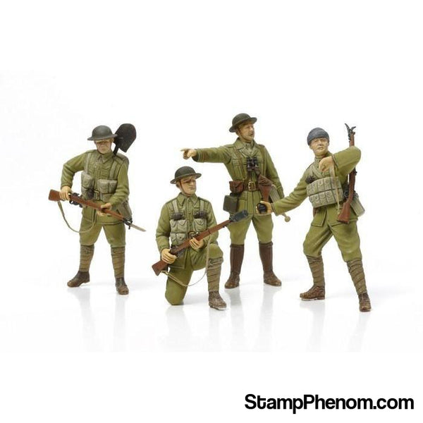 Tamiya - WWI British Infantry With Small Arms & Equipment 1:35-Model Kits-Tamiya-StampPhenom