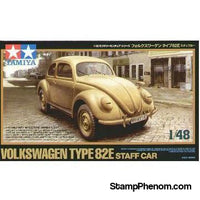 Tamiya - VW Beetle Type 82E Staff Car 1:48-Model Kits-Tamiya-StampPhenom