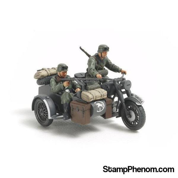 Tamiya - German Motorcycle/Sidecar 1:48-Model Kits-Tamiya-StampPhenom