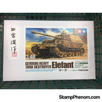 Tamiya - German Tank Destroyer Elefant 1:48-Model Kits-Tamiya-StampPhenom