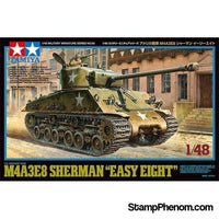 "Tamiya - US Medium Tank M4A3E8 ""Easy Eight"" 1:48-Model Kits-Tamiya-StampPhenom"