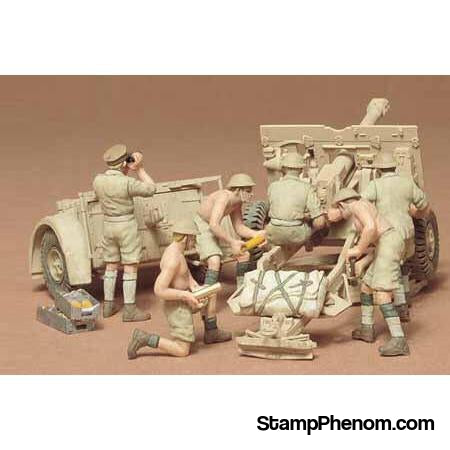 Tamiya - British 25-Pounder Field Gun-Model Kits-Tamiya-StampPhenom