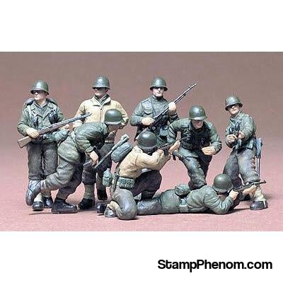 Tamiya - U.S. European Theater Infantry 1:35-Model Kits-Tamiya-StampPhenom