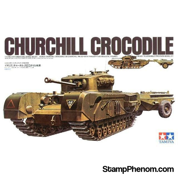 Tamiya - British Churchill C Tank 1:35-Model Kits-Tamiya-StampPhenom