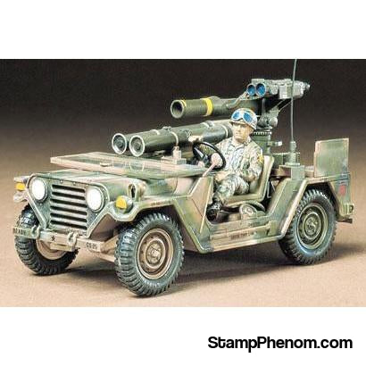 Tamiya - U.S. M151A2 With Tow Launcher 1:35-Model Kits-Tamiya-StampPhenom