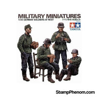 Tamiya - German Soldiers at Rest 1:35-Model Kits-Tamiya-StampPhenom