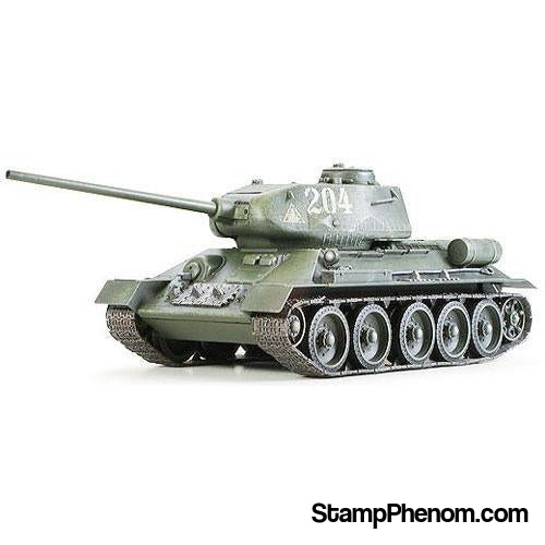 Tamiya - Russian T34/85 Medium Tank 1:35-Model Kits-Tamiya-StampPhenom