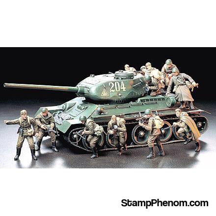 Tamiya - Russian Assault Infantry 1:35-Model Kits-Tamiya-StampPhenom