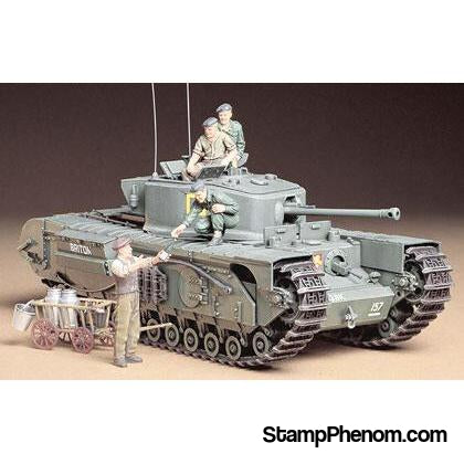 Tamiya - British Churchill Mk VII 1:35-Model Kits-Tamiya-StampPhenom