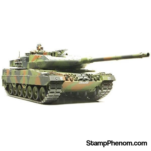 Tamiya - Leopard 2 A6 Main Battle Tank 1:35-Model Kits-Tamiya-StampPhenom