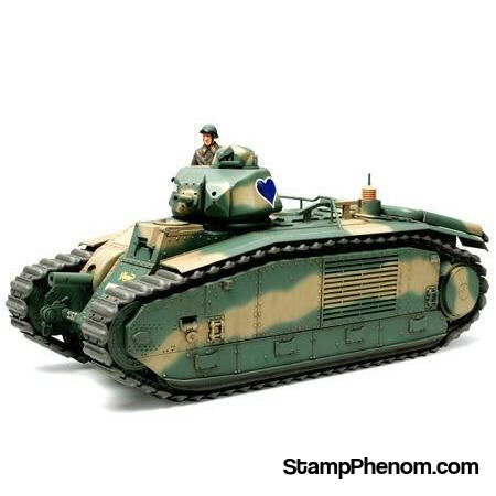 Tamiya - French Char B1 BIS Battle Tank 1:35-Model Kits-Tamiya-StampPhenom