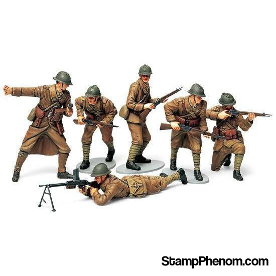 Tamiya - WWII French Infantry Set 1:35-Model Kits-Tamiya-StampPhenom