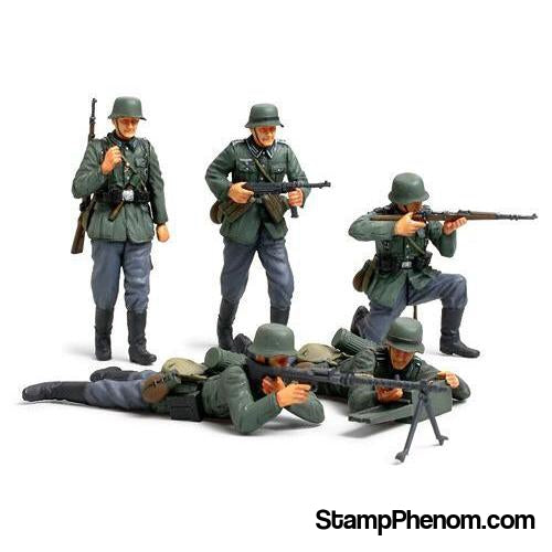 "Tamiya - German Infantry Set ""French Campaign"" 1:35-Model Kits-Tamiya-StampPhenom"