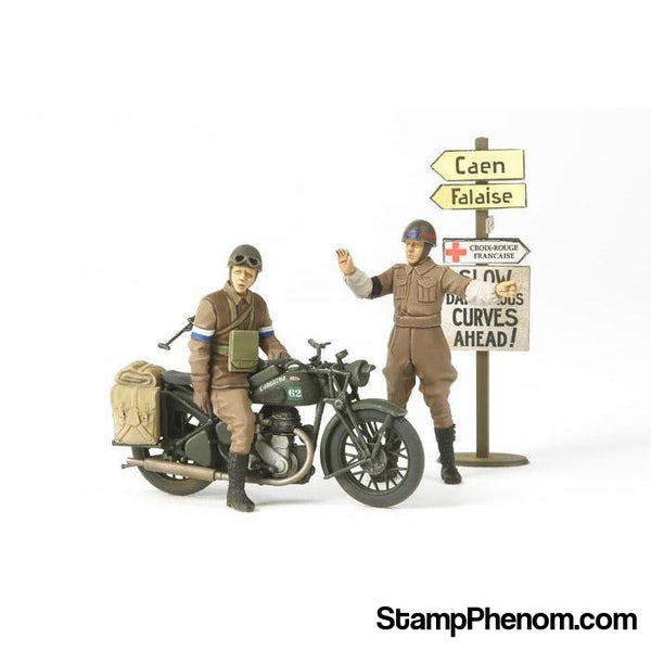 Tamiya - British Bsa M20 Motorcycle1:35-Model Kits-Tamiya-StampPhenom