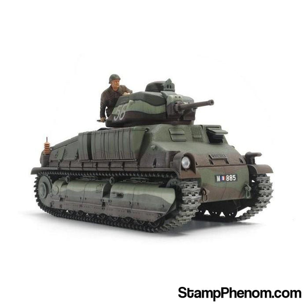 Tamiya - French Medium Tank Somua S35 1:35-Model Kits-Tamiya-StampPhenom