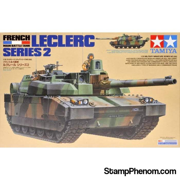 Tamiya - French Main Battle Tank Leclerc Series 2 1:35-Model Kits-Tamiya-StampPhenom