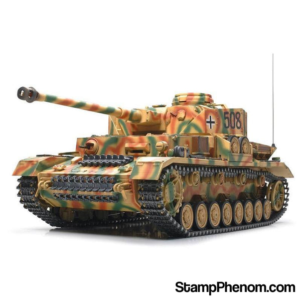 Tamiya - German Panzerkampfwagen IV AUSF.J With Single Motor 1:16-Model Kits-Tamiya-StampPhenom