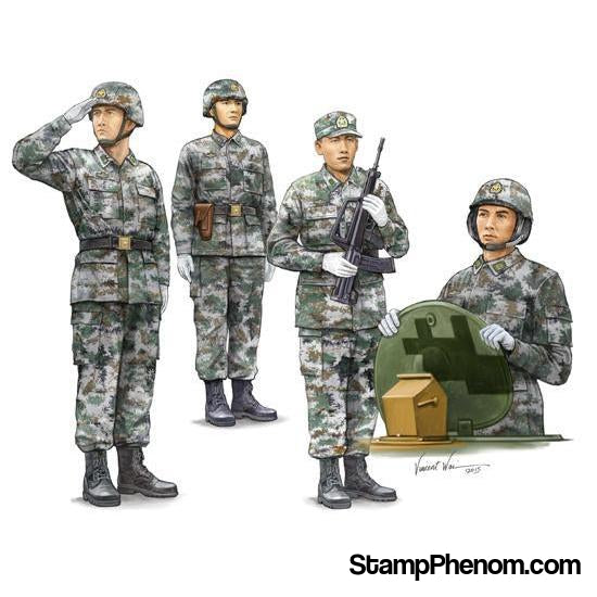 Trumpeter - PLA Chinese Army Tank Crew 1:35-Model Kits-Trumpeter-StampPhenom