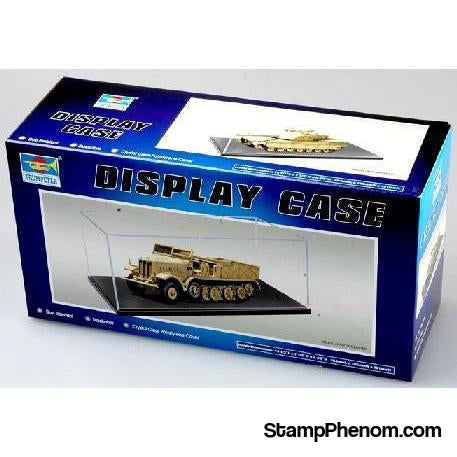 "Trumpeter - L - 14.3"" x W - 7.3"" x H - 4.75"" Display Case for 1/35 Military & 1/18 Autos-Model Kits-Trumpeter-StampPhenom"