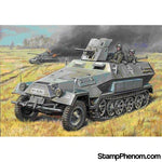 Zvezda - German SdKfz 251/10 Ausf B Personnel Carrier with 37mm Gun 1:35-Model Kits-ZveZda-StampPhenom