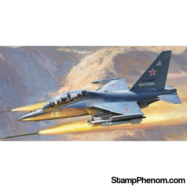 Zvezda - Russian Yak-130 Light Ground-Attack Aircraft/Trainer 1:48-Model Kits-ZveZda-StampPhenom